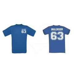 T-shirt uomo 63 BULLDOZER personalizzabile