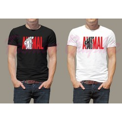 T-shirt Animal palestra bodybuilding fitness workout arnold