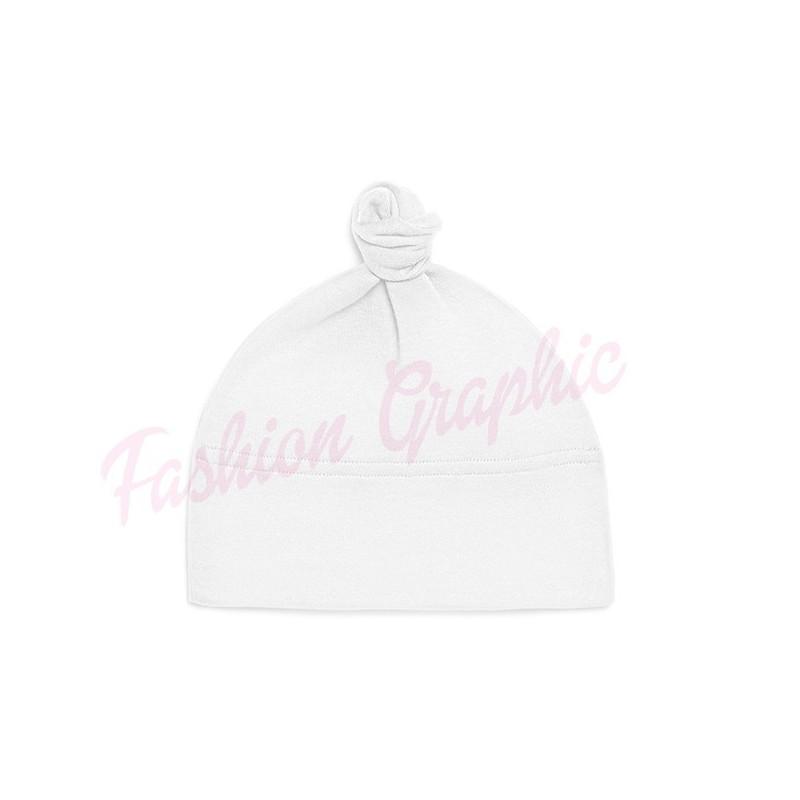 Cappellino neonato in puro cotone anche personalizzabile