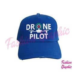 Cappello Drone Pilot Cappellino Berretto Professionale Pilota di Apr Operatore Assistente SAPR Droni